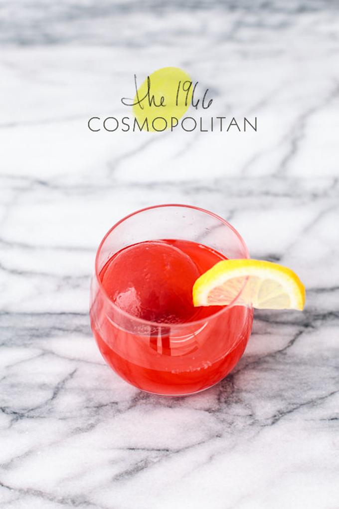 coctel cosmopolitan