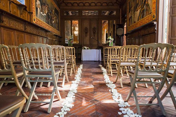 decoracion ceremonia boda civil