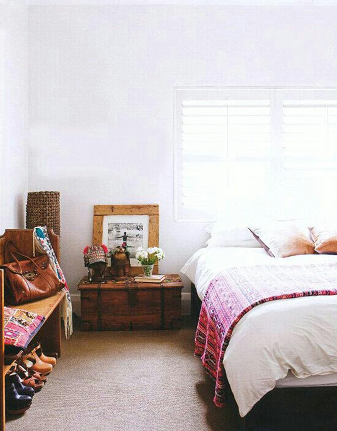 kilim dormitorio