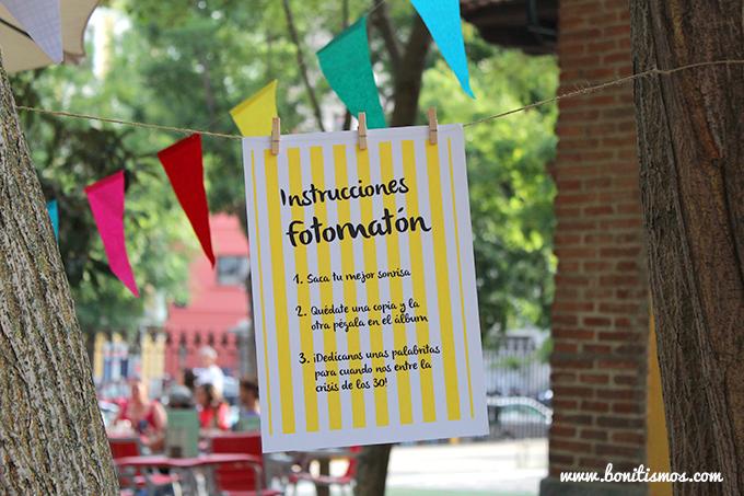 instrucciones fotomaton picnictotal