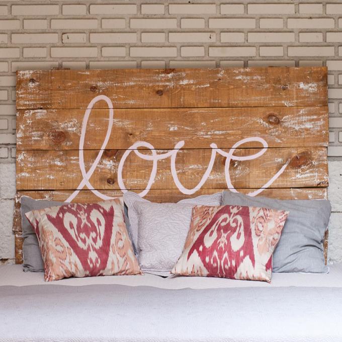 cabecero madera love