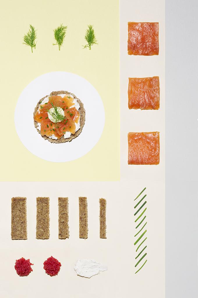 colores en la comida