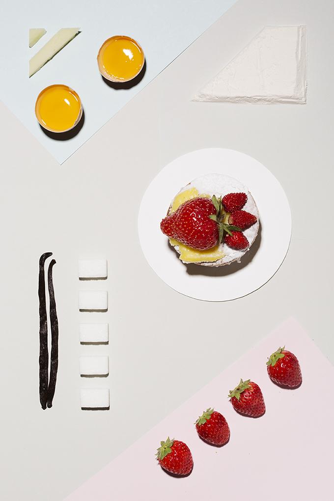colores y comida