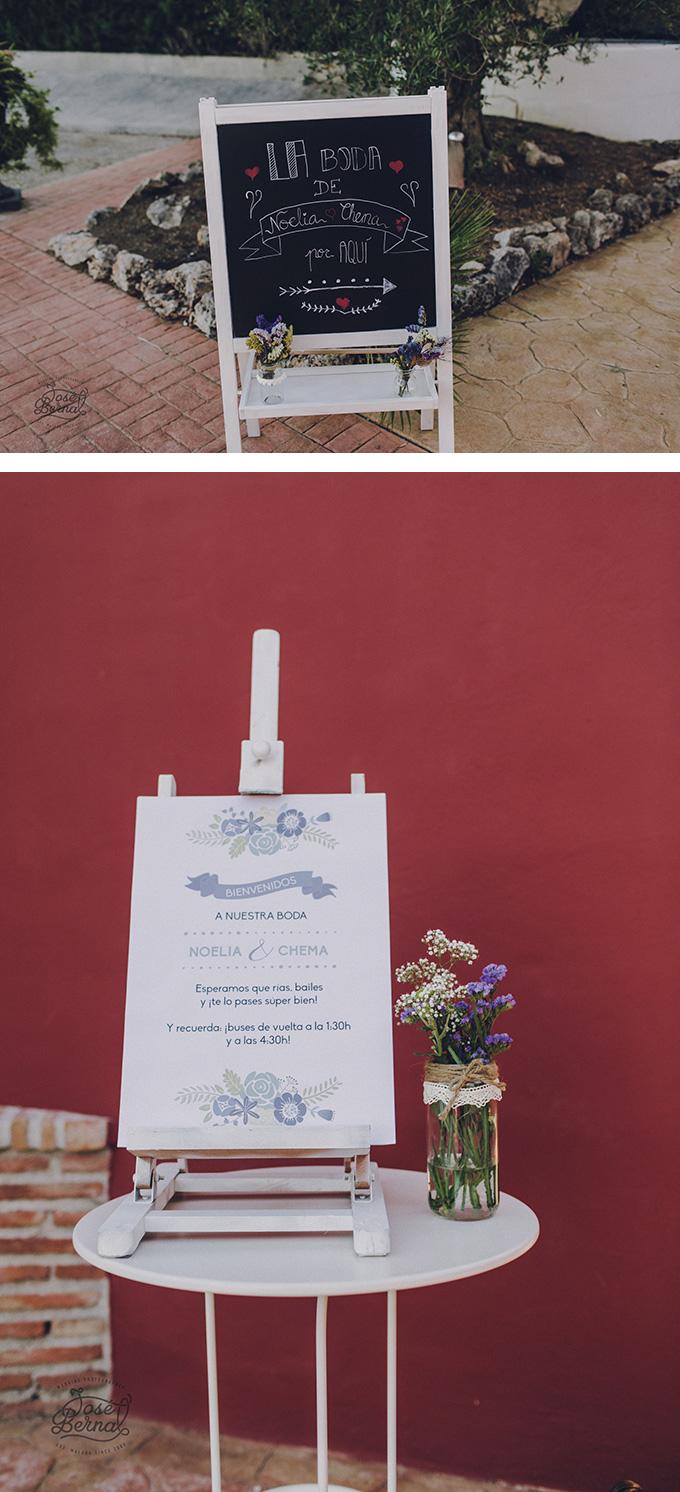 decoracion boda bienvenida