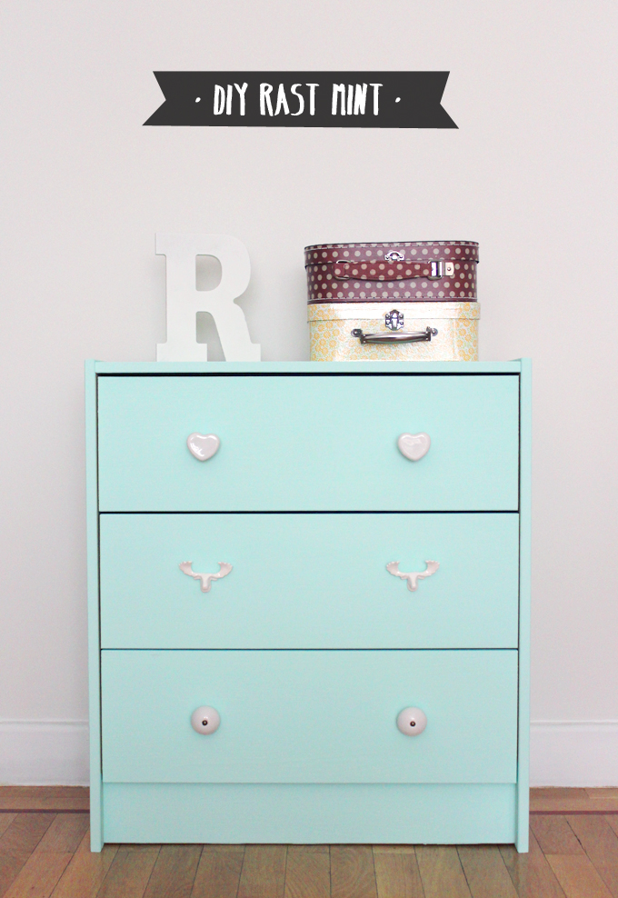 diy rast ikea mint