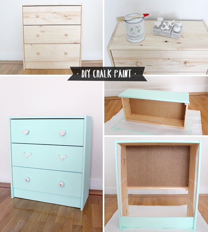 pasos diy chalk paint