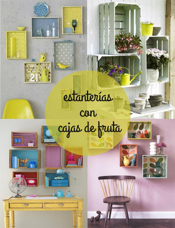 Buscando inspiraci n diy estanter as con cajas de fruta - Estanterias para fruta ...