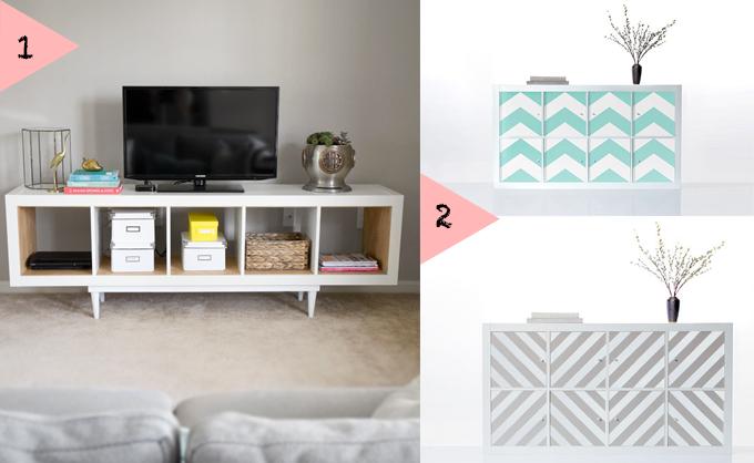Ideas para bonitizar una kallax de ikea - Ideas con muebles de ikea ...