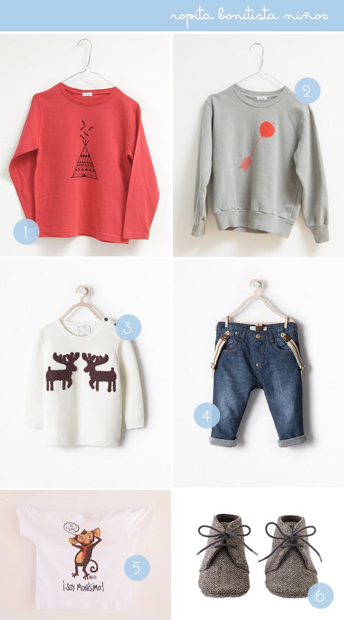ropa niños bonitista