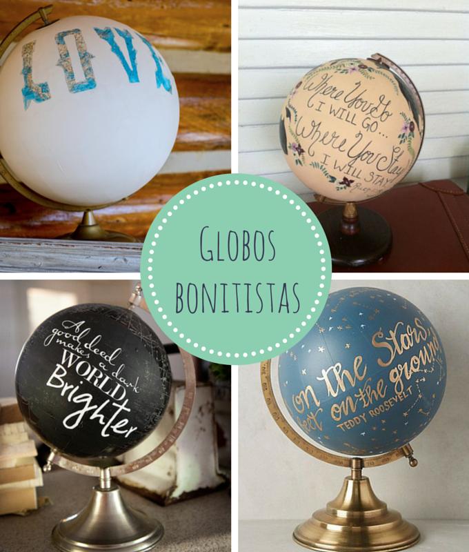 Globos bonitistas bonitismos for Globo terraqueo decoracion