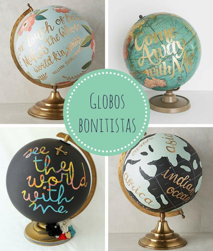 El mundo bonitista globo terr queo diy - Objetos de decoracion originales ...