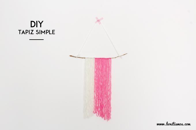 DIY tapiz lana