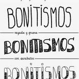 letras bonitistas