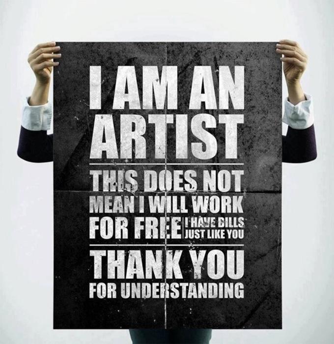 no trabajar gratis