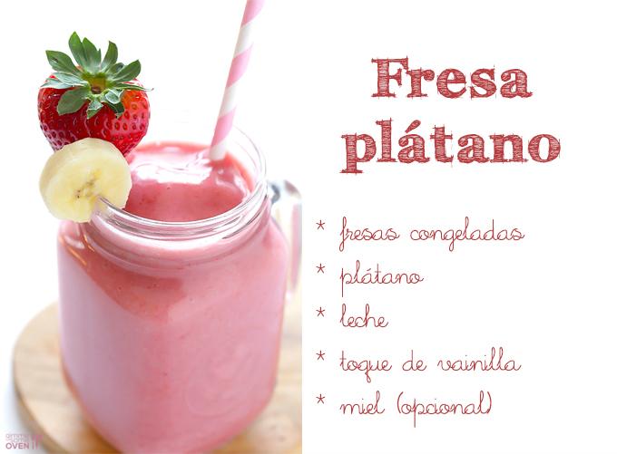 smoothie fresaplatano
