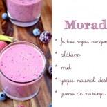 smoothie morado