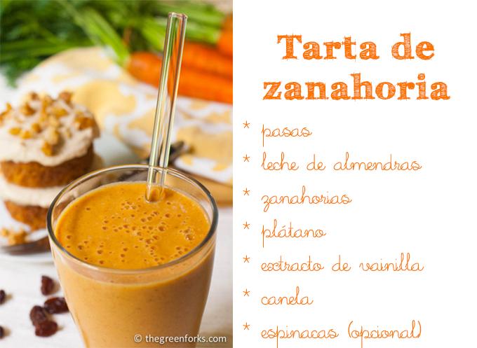 smoothie zanahoria