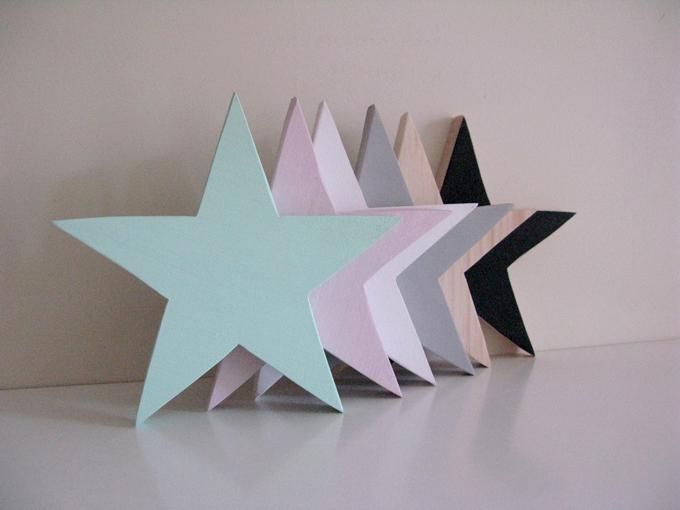 estrellas madera Trastovere