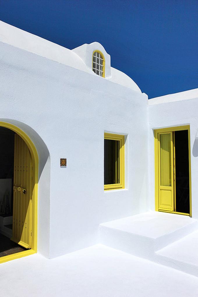 puertas amarillas