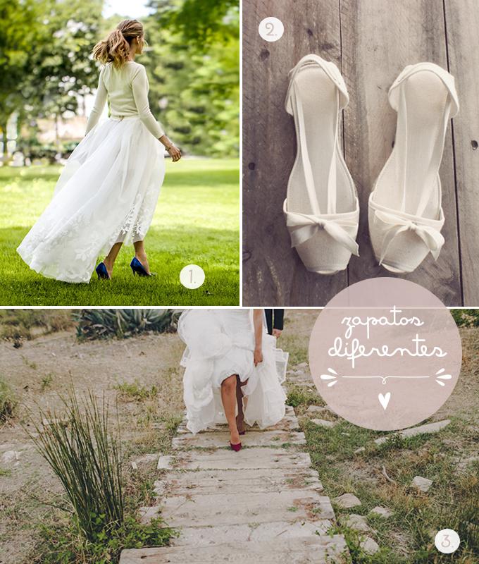 zapatos novias diferentes