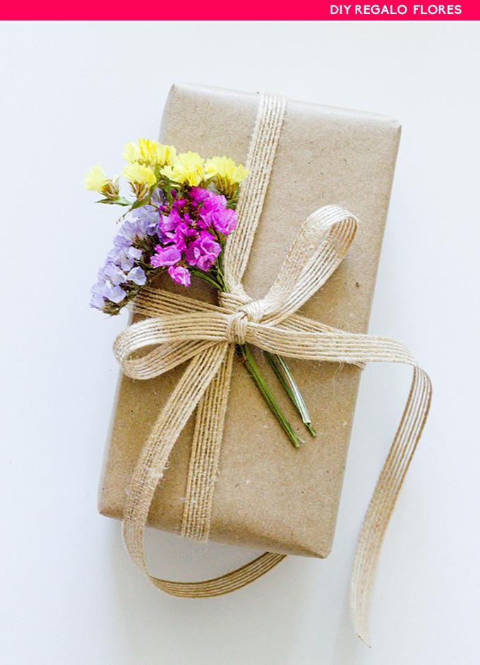 diy regalo flores