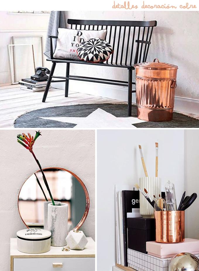 Ideas para decorar con cobre - Detalles para decorar ...