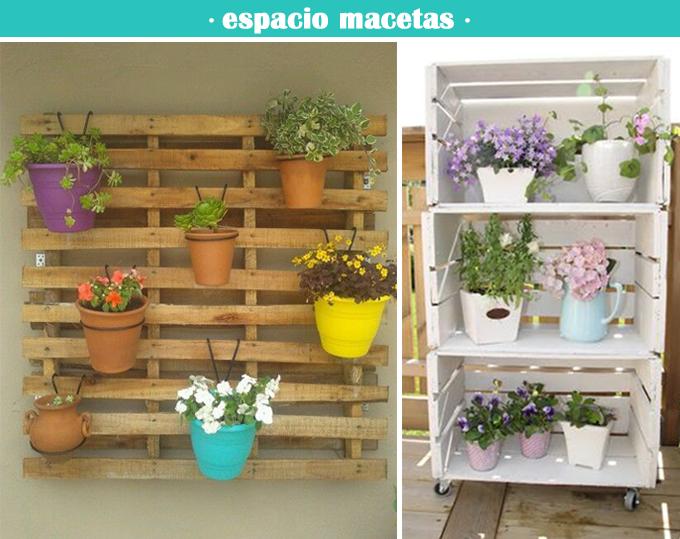 Espacio macetas terraza bonitismos for Macetas terraza diseno