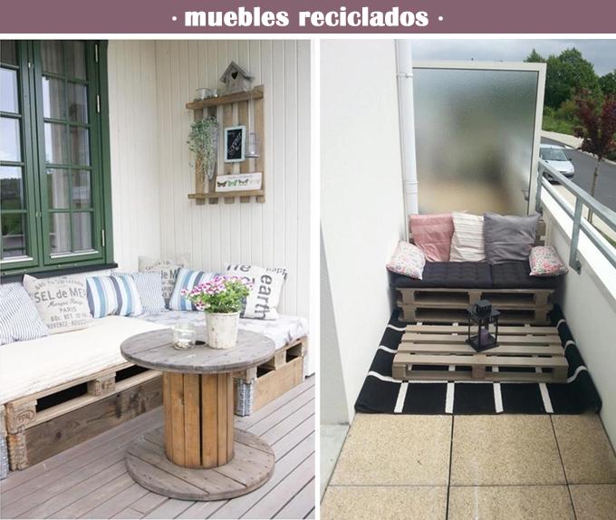 Decoraci n terrazas y balcones for Muebles de exterior para terrazas