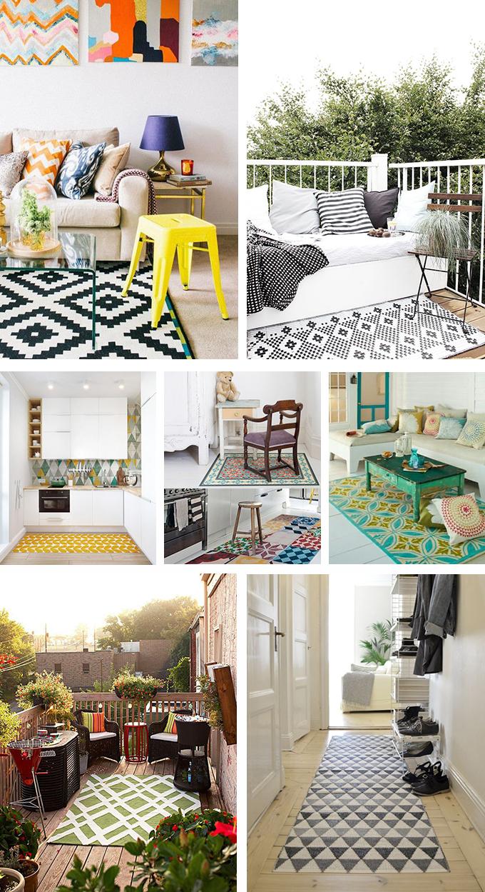 alfombras vinilicas inspiración