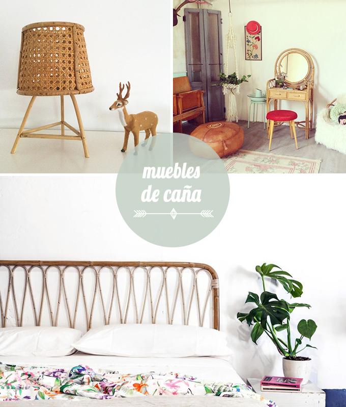 muebles caña dormitorio