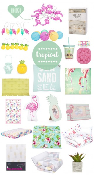 primark home tropical