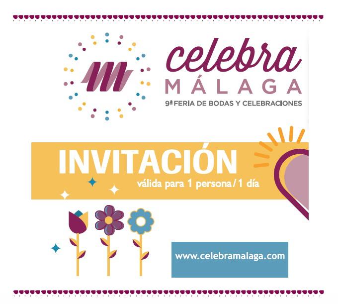 celebra malaga invitacion