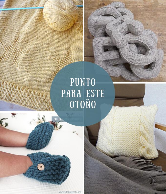 patrones para hacer punto de lana