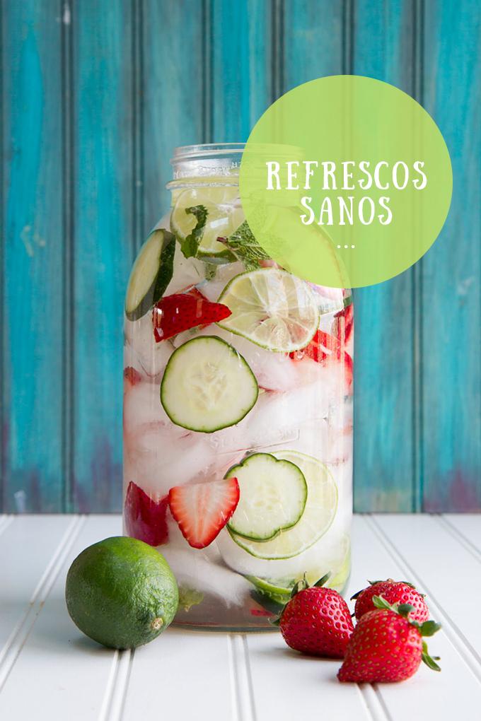 refrescos sanos