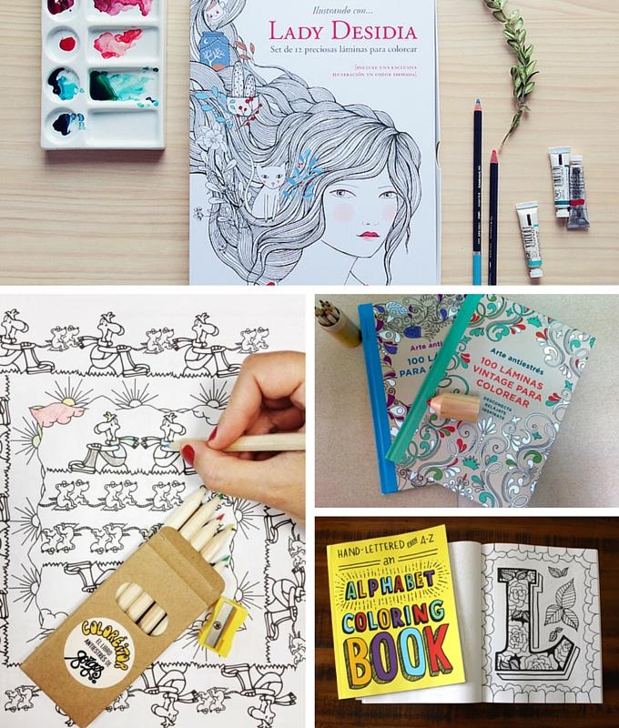 Libros de colorear para adultos bonitistas