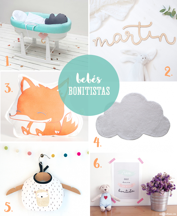 cosas para bebés bonitistas