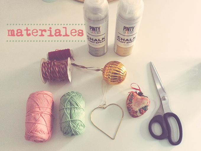 materiales adornos