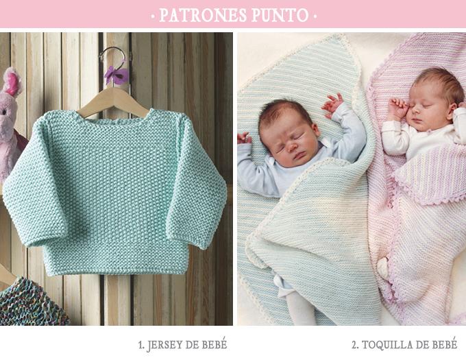 Patrones-punto-bebe-primavera - Bonitismos