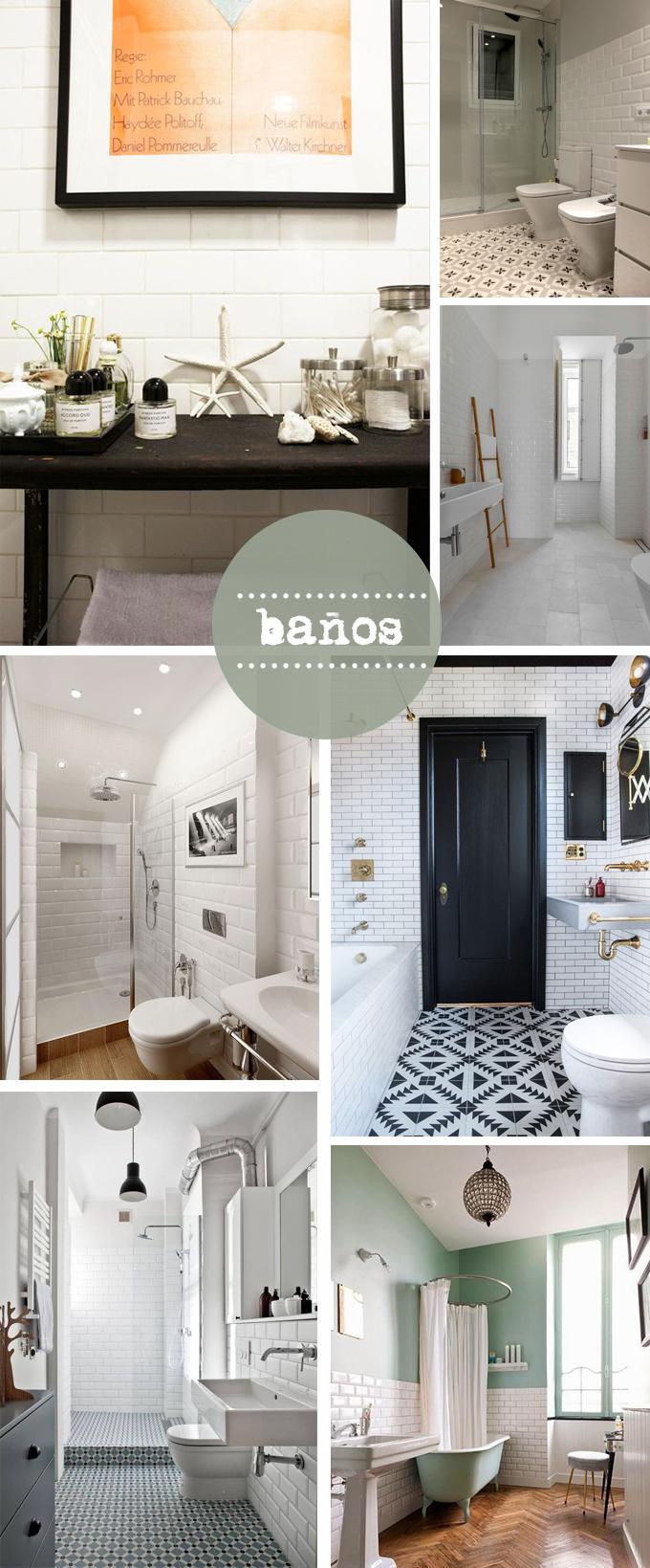 baldosas metro baños