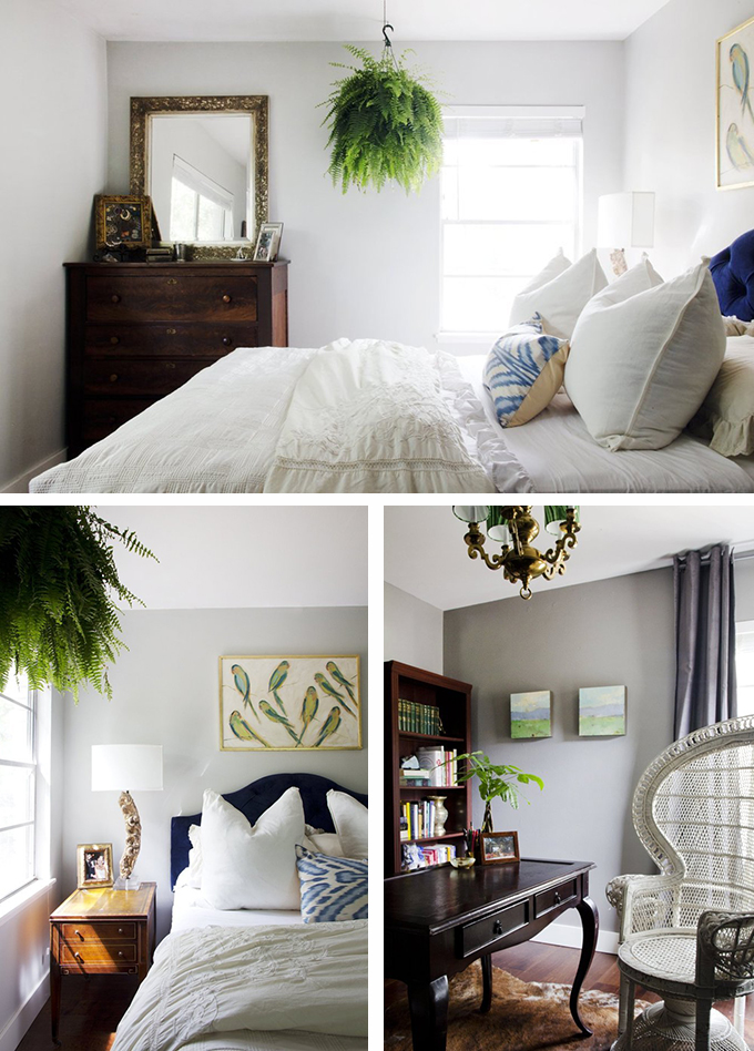 casa vintage dormitorio