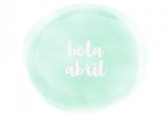 hola abril