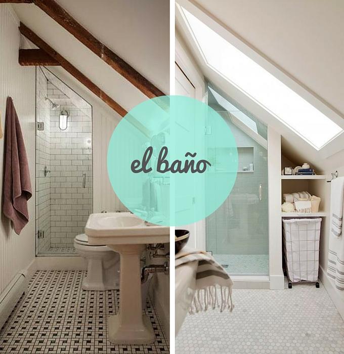baño-buhardilla