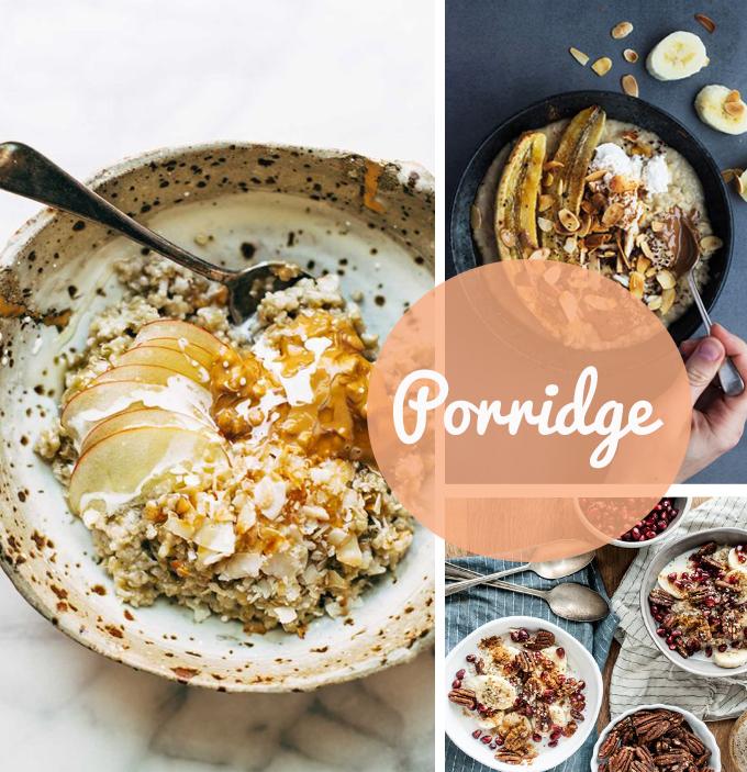 porridge para brunch casero