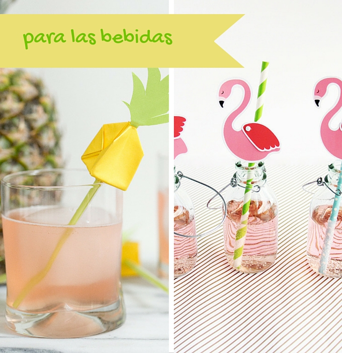 fiesta-verano-para-las-bebidas-pajitas