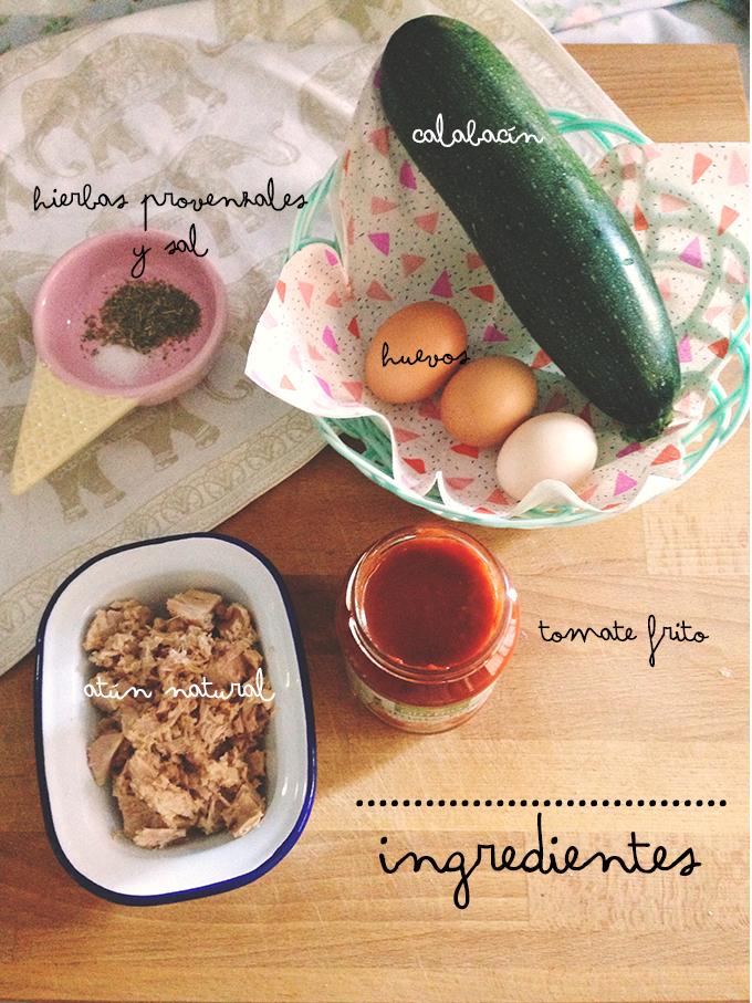 pastel calabacin receta 1