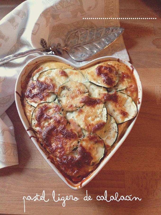 pastel calabacin receta 3