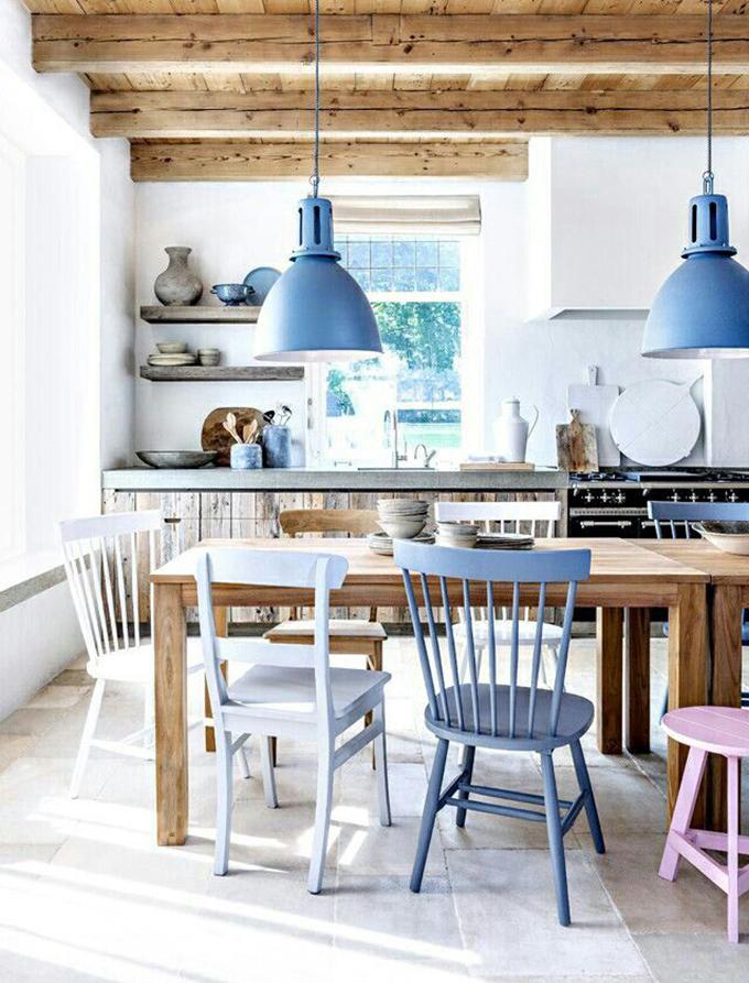 vigas-madera-cocina