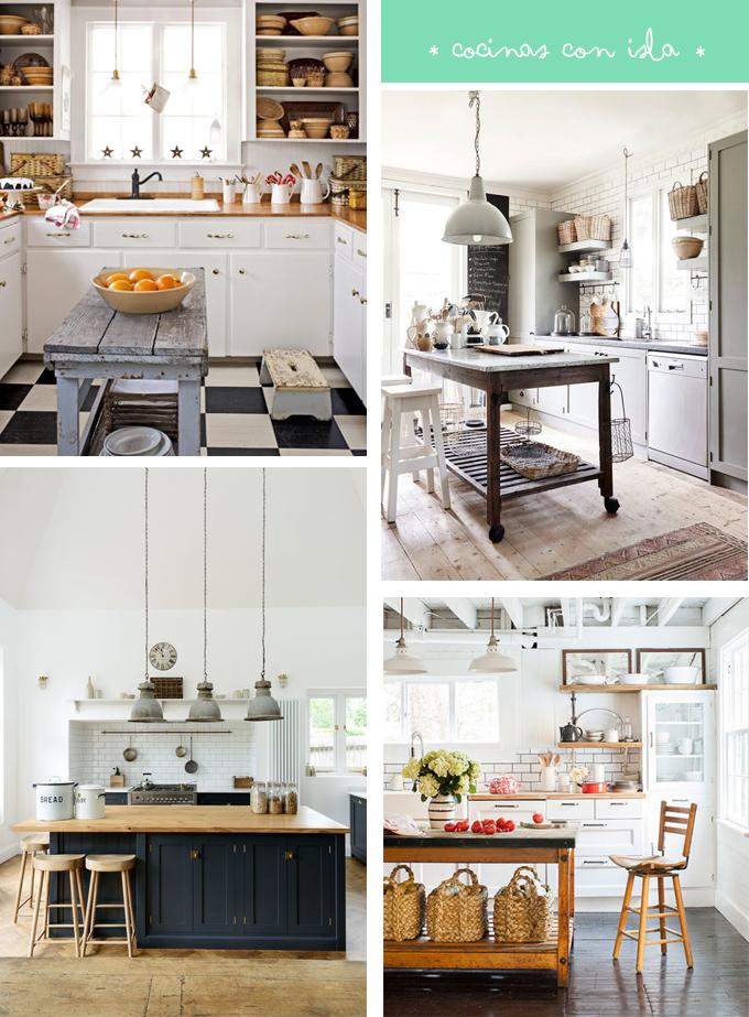 Cocinas con isla en nuestra casa ideal so ar es gratis - Islas de cocina precios ...