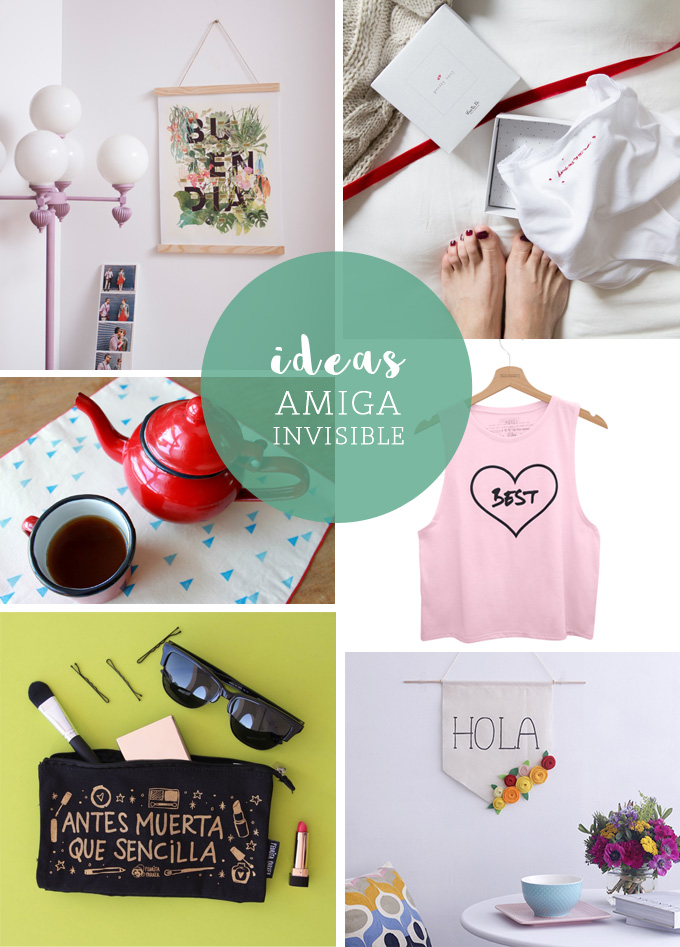 Ideas regalo amiga invidsible bonitismos for Regalo para amigas especiales boda