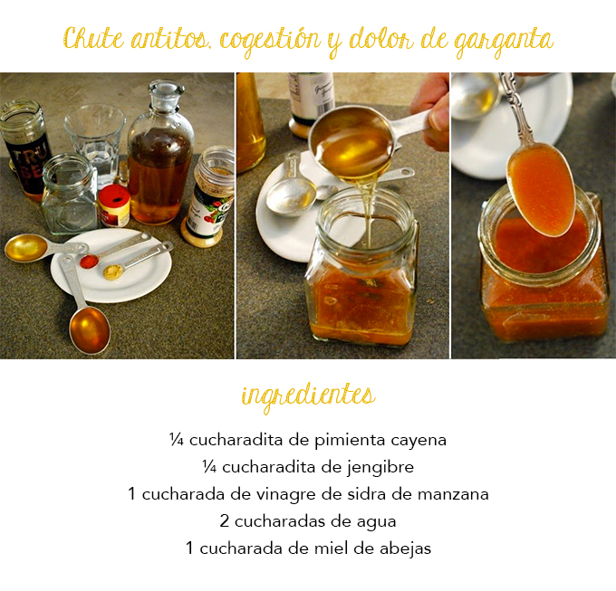 remedios naturales para el resfriado con jengibre